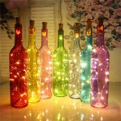 LED Flaschen-Lichterkette...