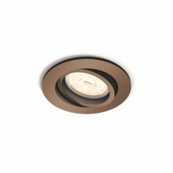 Einbau-Downlight-Ring Philips Donegal Runden Kupfer GU10