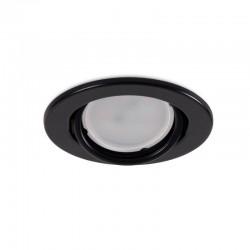 "Kippender runder Downlight-Ring \""Vepa\"" Stahl 90mm - Schwarz"