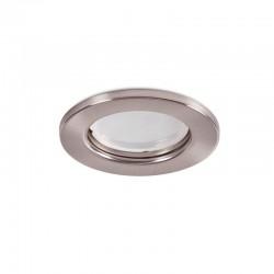 """Runder Downlight Ring \""""Sara\"""" Stahl 81mm - Satin"""