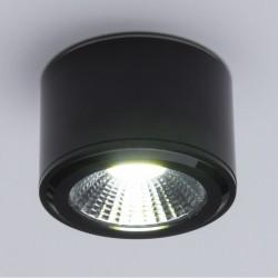 LED-Einbaudownlight COB RundenSchwarz Ø68Mm 5W 450Lm 30.000H