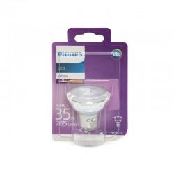 Die Glühbirne LED Philips GU10 36D 3,5W 255Lm Tageslicht