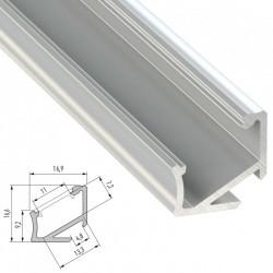 Profil AluminiumArt H 2,02M