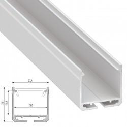 Profil Aluminium DILEDA-AnodisiertSilber-2,02M