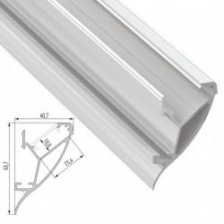 Profil Aluminium  CONVA 2,02M